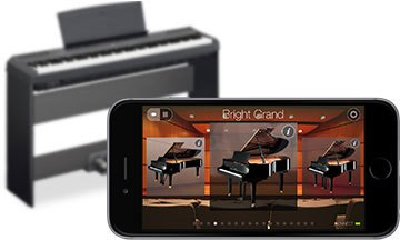 Application gratuite YAMAHA Digital Piano Controller