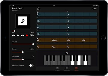 Appli Chord Tracker