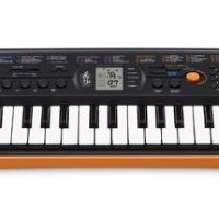 Mini-clavier CASIO SA-76 orange