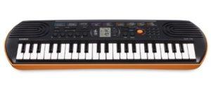 Mini-clavier CASIO SA-76 orange