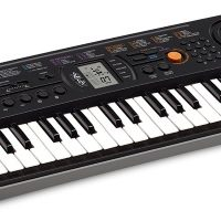 Mini-clavier CASIO SA-77 gris