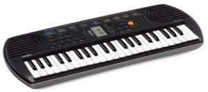 Mini-clavier CASIO SA-77 gris