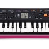 Mini-clavier CASIO SA-78 rose