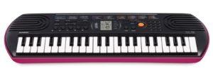 Mini-clavier CASIO SA-78 rose