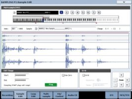 Korg KRONOS Open Sampling System
