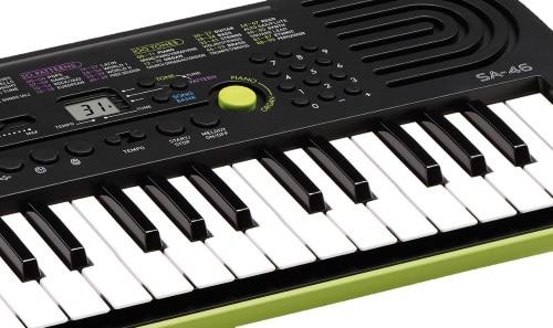 Vue mini-clavier CASIO SA-46