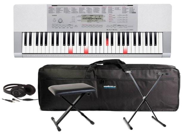Piano pour débuter CASIO LK 280 PACK casque stand banquette housse top 5