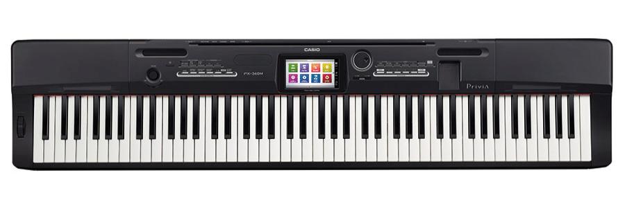 Piano Numérique Casio Privia PX 360 Clavier