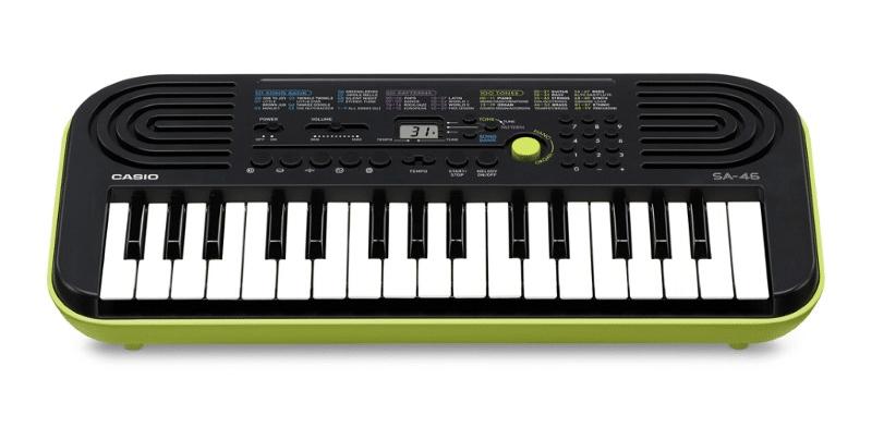 Mini clavier numérique CASIO SA 46 piano