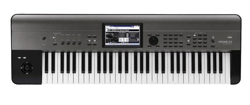 Clavier numérique KORG Krome EX 61 synthétiseur workstation