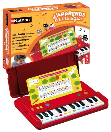 Clavier enfant électronique NATHAN numérique top 4