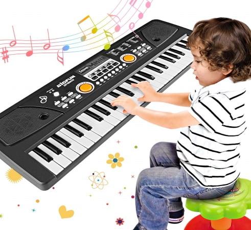 Clavier enfant électronique WOSTOO numérique top 4