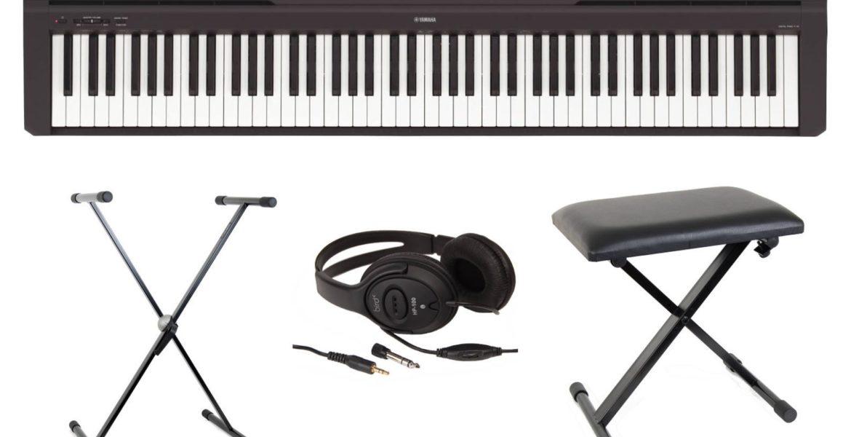 Clavier numérique compact Yamaha P45 piano électrique