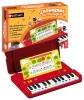 Mini piano enfant pour s'initier à la musique, avec 12 airs connus, support partition pour jouer morceau de piano, idéal apprentissage enfants