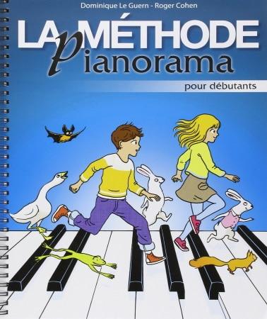 Méthode pour débuter au piano PIANORAMA débutants TOP 5